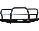 Бампер РИФ передний УАЗ Хантер универсальный усиленный с трубным кенгурином