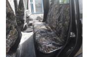 Грязезащитные чехлы База на УАЗ Патриот / Хантер, оксфорд 210д, резинка (комплект передние/задние)