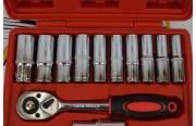 Набор инструментов 14 предметов (красный кейс)