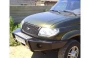 Бампер передний на УАЗ Патриот Китобой без кенгурина