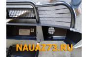 Бампер передний на УАЗ Патриот Китобой с кенгурином