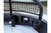 Кит-набор для самостоятельной сварки и окраски бампер Т-34-1 передний усиленный с кенгурином на УАЗ Патриот, сталь 3, 4, 6 мм
