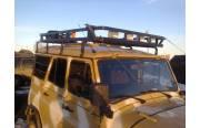 Багажник на УАЗ Хантер Сахалин (8 опор)