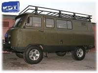 Багажник экспедиционный - УАЗ Буханка KDT