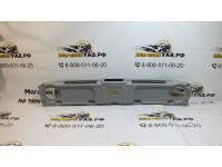 Полка верхняя под магнитолу 469/Hunter Симбат АБС пластик серая