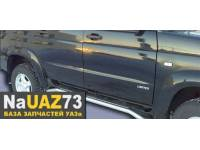 Комплект подножек на УАЗ Патриот