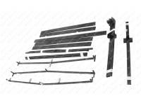 Дуги тента УАЗ ПРОФИ Двойная кабина (2,42/1,92) (без тента)