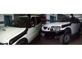 Шноркель Nissan Pathfinder/Navara D22 (01/1997 - 10/2001/дизель QD32 3.2л-I4) SND22A