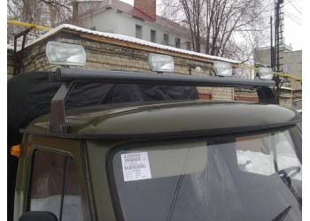Люстра - кронштейн крепления галоген на крышу 452