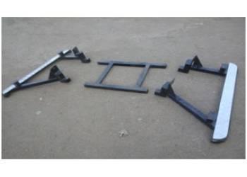 Комплект подножек на УАЗ 469 Хантер усиленные с креплением краме