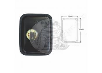 Зеркало заднего вида (240mmX190mm/диаметр крепления - 22-24mm) крепление хомут универсальное SL-1611