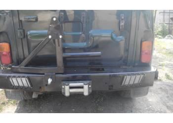 Обвес задний 469/Хантер ЧЕРОКИ с кронштейном запасного колеса с креплением к бамперу