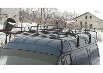 Багажник ГАЗель, Соболь, Баргузин 3-х секционный