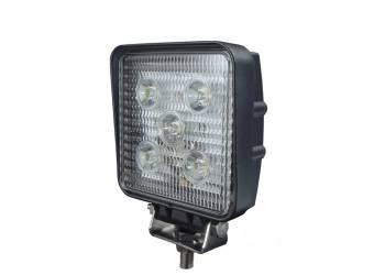 Фара дополнительного освещения LED 15W 5 диодов по 3Вт, дальний свет