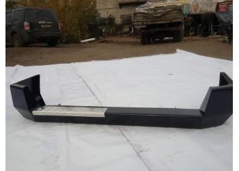 Задний усиленный бампер на УАЗ Патриот Партизан