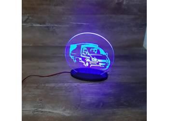 Светильник на панель приборов
