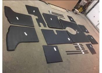 Обивка салона на ДВП 452 комплект 24 предмета (с глухими окнами)