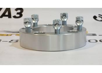 Расширитель колеи (ступичные проставки) УАЗ (5*139,7) 40 мм (дюраль)