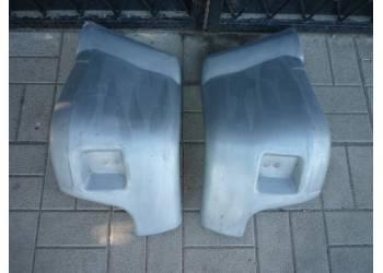Комплект накладок заднего бампера на УАЗ Патриот