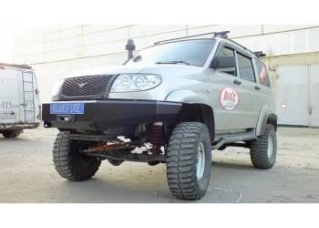 Бампер силовой ПП-2 на УАЗ Патриот, Пикап