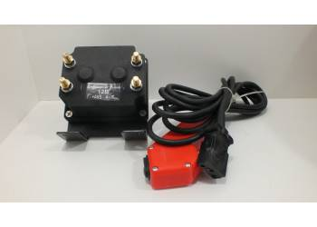 Блок управления к лебедке Спрут Нового образца 12V, с пультом