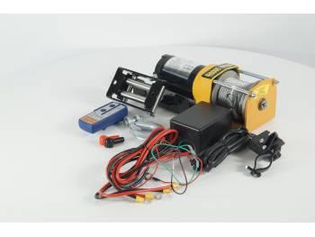 Лебедка электрическая 12V Electric Winch 3000lbs / 1361 кг 1523