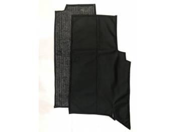 Коврики под сиденье УАЗ 452 (2 предмет) (винил/кожа, ватин)