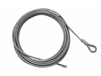 Трос стальной для лебедки 12000 LBS 10мм*18м
