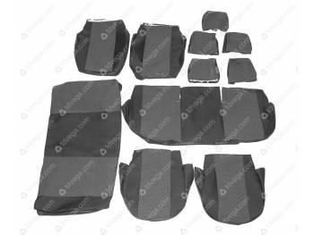Чехлы сидений 2363 Пикап (объем. флок) с 2015 г.в.