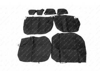 Чехлы сидений 3163 Патриот (черная экокожа) с 2015 г.в (без подлокотника)
