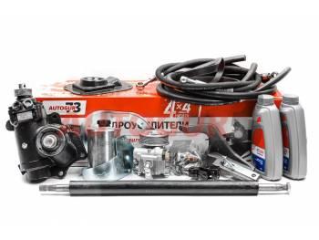 Гидроусилитель руля ГУР УАЗ 452 (г. Борисов) двигатель ЗМЗ 409 с насосом ZF