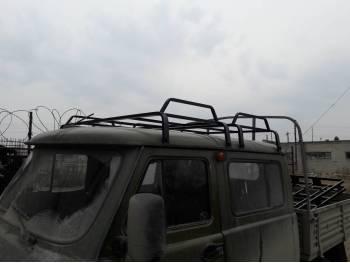 Багажник двухсекционный на УАЗ 39094