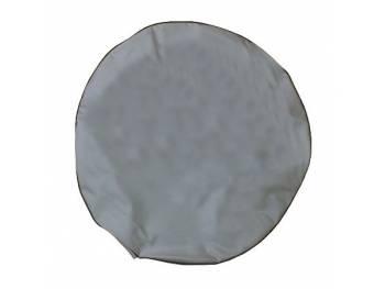 Чехол запасного колеса непромокаемый светло-серый Винил.кожа
