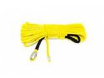 Трос для лебедки синтетический 10мм*28 метров (желтый) 5077