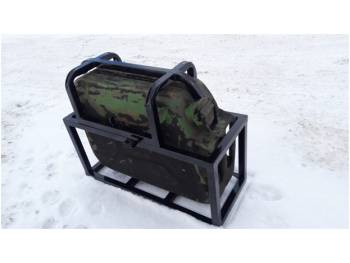 Кронштейн-ящик для фиксации канистры на любые виды багажников
