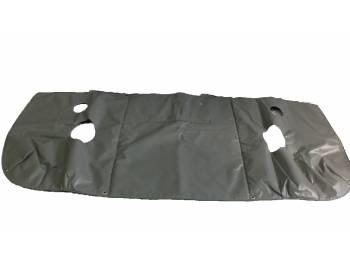Утеплитель лобовой УАЗ-452 светло-серый Винил.кожа, ватин, поролон (5мм)