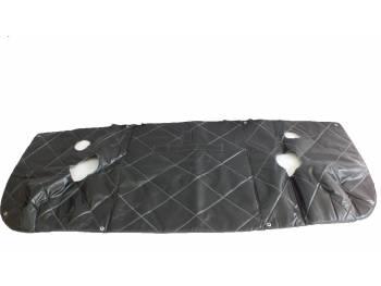 Утеплитель лобовой 452 черный прострочка ромбом