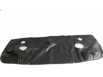Утеплитель лобовой УАЗ-452 черный Винил.кожа, ватин, поролон (5мм)
