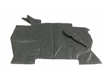 Коврик под рычаги 452 темно-серый Винил.кожа, ватин, поролон (5мм)