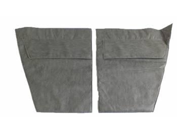 Обивка дверей УАЗ-469 к-т 4 двери темно-серый