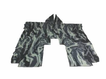 Коврики под сидения УАЗ-452 омон (серый камуфляж)