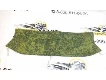 Утеплитель радиатора УАЗ-Патриот (рестайлинг) охотник(зеленая цифра)