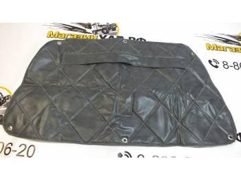 Утеплитель радиатора 469 темно-серый прострочка ромбом