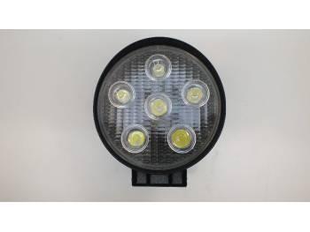 Фара светодиодная CH007 18W 6 диодов по 3W дальний свет