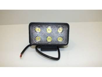 Фара светодиодная X006 18W 6 диодов по 3W