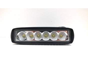 Фара светодиодная P003 18W 6 диодов по 3W ближний свет