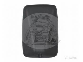 Зеркало заднего вида (280mmX190mm/диаметр крепления - 18mm) крепление под шар Mitsubishii new Canter, ROSA SL-1657
