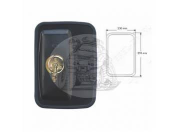 Зеркало заднего вида (310mmX230mm/диаметр крепления - 22-24mm) крепление хомут универсальное SL-1610