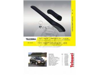 Шноркель Toyota Land Cruiser 200 (дизель 1VD-FTV 4.5л-V8 Intercooled Twin Turbo/бензин 2UZ-FE 4.7л-V8 DOHC) длинный TSLC200NA