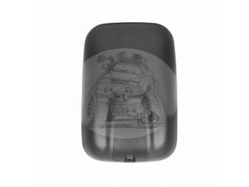 Зеркало заднего вида (250mmX168mm/диаметр крепления - 22-25mm) крепление под шар Mitsubishi Canter SL-658